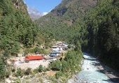 Puzzle dudh koshi river (népal)