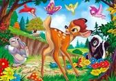 Bambi et le papillon