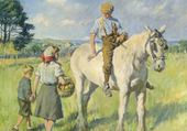 S A Forbes : Horseriding