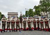 Armée Française   ,  Les Spahis