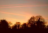 Soleil couchant en Bretagne