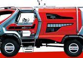 camion de pompier du futur
