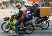 moto taxi en asie