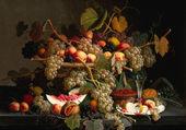 Puzzle panier de fruits