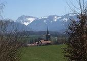 Puzzle Eglise de Palézieux-Village/VD/Suisse
