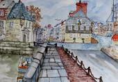 Puzzle Honfleur,au coeur de la Normandie