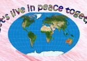 Puzzle LET'S LIVE IN PEACE
