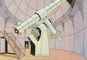 La lunette de l'observatoire