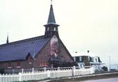 Église de Pessamit, Québec, Canada.