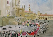 Puzzle Le palais des papes