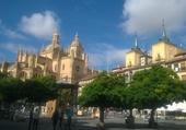 SEGOVIA ET SA CATHEDRALE (Espagne)