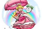 Peach (Super Smash Bros) par J.Marme