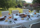 Puzzle Diner en terrasse