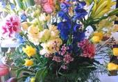 bouquet multifleurs