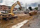 Construction de rue
