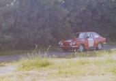 Puzzle FIAT 850 coupé en rallye