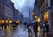 Puzzle une rue de Paris