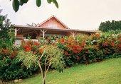 Maison bien fleurie