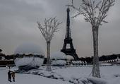 Puzzle Paris sous la neige