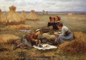 déjeuner dans les champs