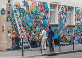 Puzzle Street art dans Paris