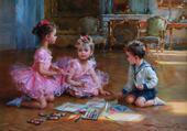 les petits peintres