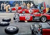 Puzzle Formule 1 (années 60)