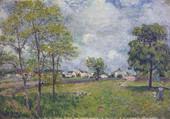 village au loin