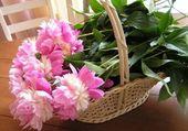 Puzzle Joli panier de fleurs