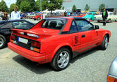 TOYOTA MR2 COUPE 1984/1989