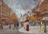 Puzzle scène de Paris