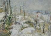 Puzzle neige à Pontoise