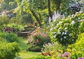 Puzzle Jardin anglais magnifique!