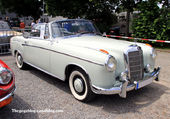 MERCEDES 220 S CABRIOLET(w180)1956