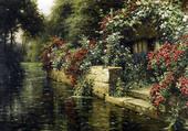 Puzzle maison en bordure de rivière