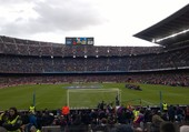 Stade Camp Nous Barcelone