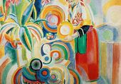 Robert Delaunay : Portugaise
