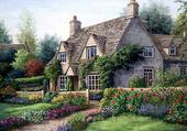 Puzzle vue sur la maison