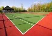 Puzzle Un tennis tout beau, tout neuf
