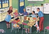 Puzzle Tout le monde à table