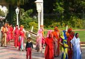 Concours de saris