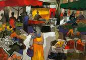 Pierre Pivet: Jour de marché
