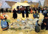 Robert Delaunay: Marché breton