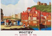 Whitby in Yorkshire