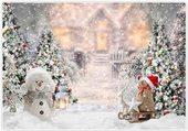 Puzzle noel bonhomme de neige