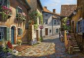 Puzzle petite rue
