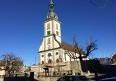 Eglise à Bulle/FR/Suisse