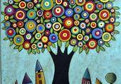 Un arbre de Karla Gerard au printemps