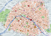 Puzzle PLAN DE PARIS