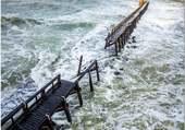 Puzzle Capbreton, l'Estacade après la tempête